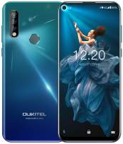 Unlocked Cell Phone,OUKITEL C17 Pro 6.35 inch Android 9.0 4G Dual SIM Mobile Phone,T-Mobile, AT&T Phone,64GB+4GB RAM Triple Camera Unlocked Smartphone,Gradient