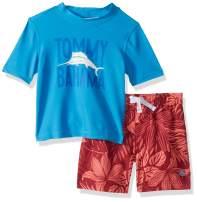 Tommy Bahama Boys' Rashguard and Trunks Swimsuit Set