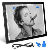 YEPSOON A4 Magnetic Suction Drawing Supplies Light Pad Tracer 5d Diamond Painting Accessorieslight Board Art Supplies for Kids&Adult Eye Protection Without Flicker