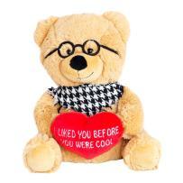 """Hollabears 10"""" Hipster Teddy Bear Plush"""