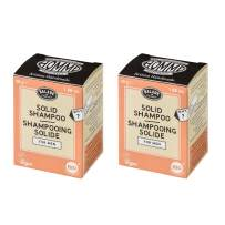Balade En Provence Men?s Handmade Organic Gentle Shaving Soap, Orange Flower - Long Lasting Nourishing Shea Butter Formula, Eco Friendly, Sulfate Free, Vegan Certified, 1.66 oz (Pack of 2)