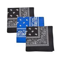 Mechaly Paisley 100% Cotton Bandanas - 3 Pack