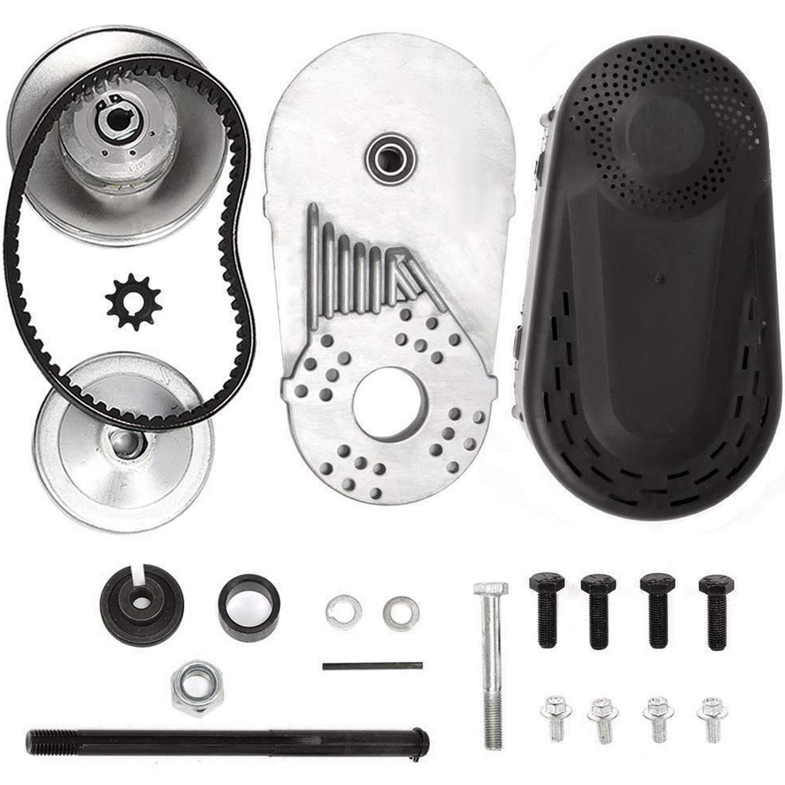 Mophorn Torque Converter Go Kart Clutch Go Kart Clutch Set Torque Converter Kit Three Fifth Inch 10T 12T and 12T 35 Chain