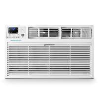 Emerson Quiet Kool 230V 10,000 Smart Through-The-Wall Air Conditioner with 10,600 BTU Supplemental Heating, EATE10RSD2T, 10000, WiFi, White