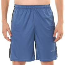 Turaag Quick Dry Gym Shorts for Men-Moisture Wicking Shorts for Running & Gym