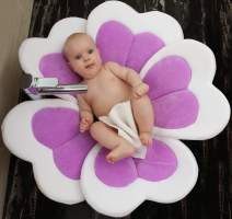 VERNASSA - Baby Bath Flower Baby Bath(Purple)