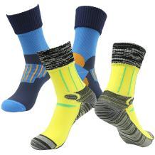 [SGS Certified] RANDY SUN Unisex Waterproof & Breathable Hiking/Trekking/Ski Socks 2 Pairs
