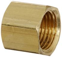 """Eaton Weatherhead 61X4 Compression Fitting Nut, CA360 Brass, 1/4"""" Tube OD (Pack of 20)"""