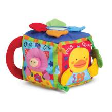 Melissa & Doug K's Kids Musical Farmyard Cube (Educational Baby Toy, Great Gift for Girls and Boys - Best for Babies and Toddlers, 6 Month Olds, 1 and 2 Year Olds)