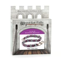 Weave Got Maille 3-Color Byzantine Chain Maille Bracelet Kit, Magic Carpet Ride