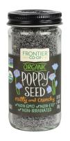 Frontier Natural Products Poppy Seed, Og, Whole, 2.40-Ounce