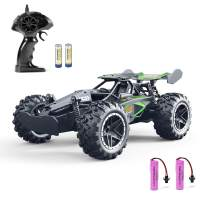 Remote Control Car RC Cars - FREE TO FLY 2019 Updated 1/18 Scale High Speed RC Car, 2.4Ghz Race RC Trucks with Two Rechargeable Batteries, Remote Control Car Toys for Kids & Adults