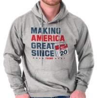 Brisco Brands Trump Make America Great Inauguration USA Hoodie