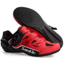 Santic Lock-Free Cycling Shoes MTB Shoes Road Bike Shoes Cycling Sneakers Unlocked Spin Shoes