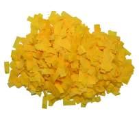 Flutter FETTI Tissue Paper Confetti Biodegradable (Eco- Friendly) Yellow Premium 19,500 Pieces