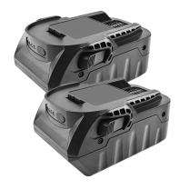 Turpow 2 Pack 18-Volt 4.0Ah Lithium Ion Replacement Battery Compatible with RIDGID R840087 R840083 R840086 R840084 AC840085 RIDGID 18V Battery