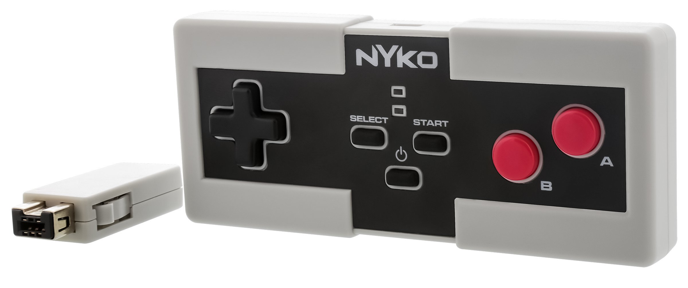 Nyko Miniboss - Wireless Controller with Built-In Rechargeable Battery for NES Classic Edition