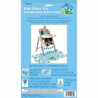 Blue Turtle 1st Birthday High Chair Decorating Kit, 4pc