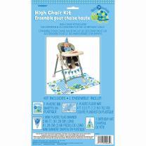 Blue Turtle 1st Birthday High Chair Decorating Kit, 4pc