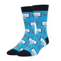 HAPPYPOP Men's Basketball Golf Football Bowling Baseball Socks, Novelty Fun Gift