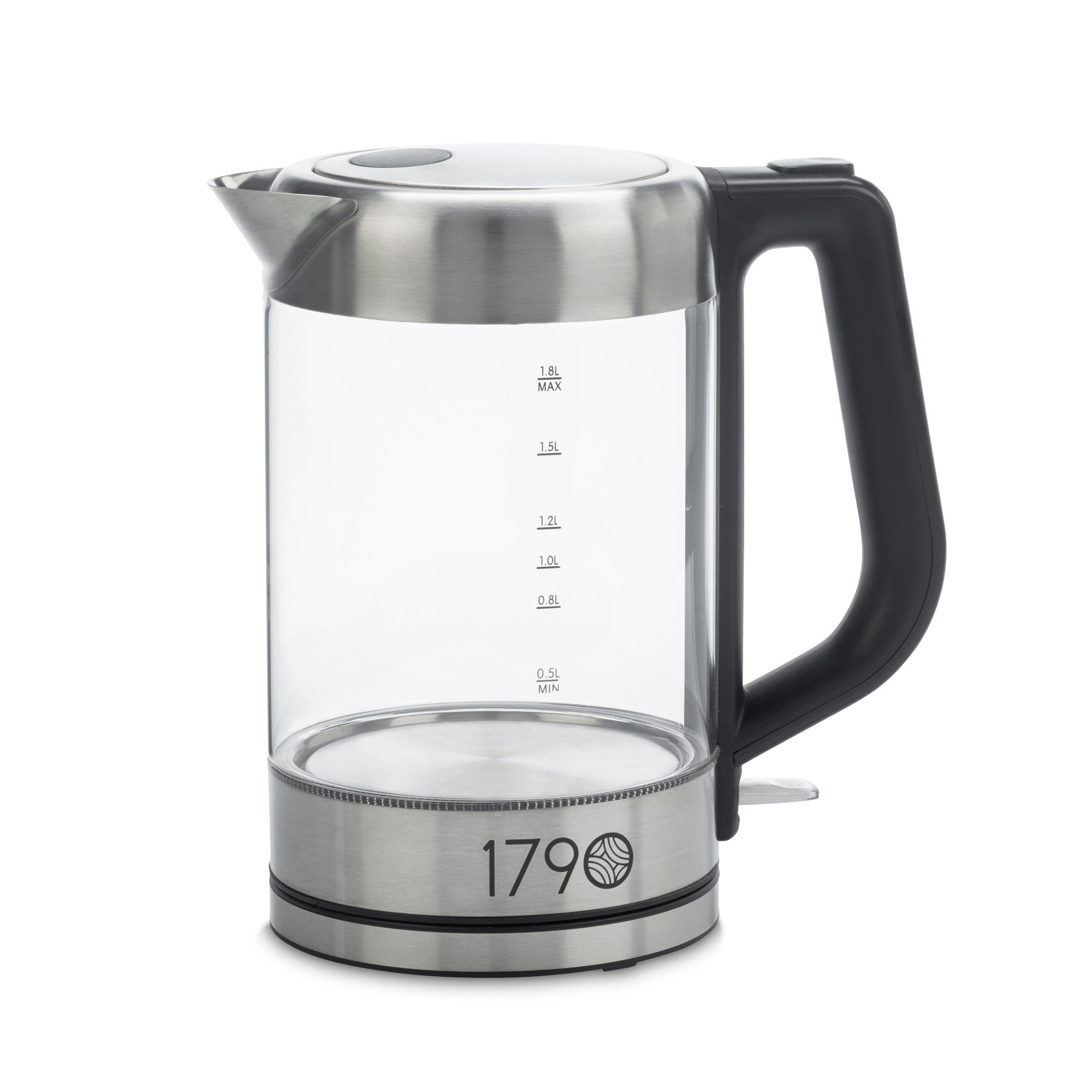 1790 Electric Kettle 1.8 Liter - (0.5 Gallon) BPA Free, Cordless, Stainless Steel Finish - The Perfect Electric Tea Kettle & Water Boiler