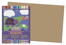 Pacon SunWorks Construction Paper, 12-Inches by 18-Inches, 50-Count, Light Brown (6907)