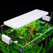WEAVERBIRD Aquarium Fish Tank Light Aquarium Planted Clip Lamp with Extendable Brackets for Fish Tank