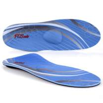 """PCSsole High Arch Support Shoe Insert,Orthotic Memory Foam Insoles for Flat Feet,Plantar Fasciitis, Overpronation (Mens 8-8 1/2 