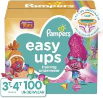 Pampers Easy Ups Training Pants Girls and Boys, Size 5 (3T-4T), 100 Count, Giant Pack