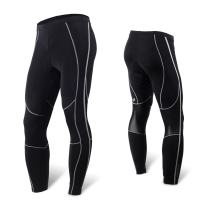 NUCKILY Men's Bicycle Pants 3D Padded Road Cycling Tights MTB Leggings Outdoor Cyclist Riding Bike Wear