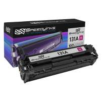 Speedy Inks Compatible Toner Cartridge Replacement for HP 125A / CB543A (Magenta)