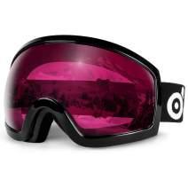 Snow Ski Goggles Kid//Adult  UV400  Anti-fog Lens Snowboard Snowmobile Motorcycle