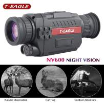 T-EAGLE Night Vision Monocular,8X35 HD Digital Infrared Camera Scope with 1.5 inch TFT LCD Take Photos and Video Playback Function and TF Card for Night Watching or Observation