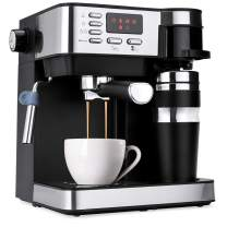 Best Choice Products 3-in-1 15-Bar Espresso, Coffee, and Cappuccino Maker Machine w/Steam Frother, Thermoblock System