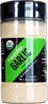 FreshJax Premium Organic Spices, Herbs, Seasonings, and Salts (Certified Organic Garlic Granules - Large Bottle)