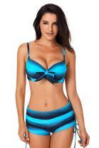 Tankini Swimsuits for Women Push Up Bikini and Boardshort Two Pieces Bathing Suits Sports Swimwear