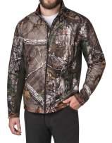 American Outdoorsman Camo Full Zip Fleece in Realtree Xtra Camo for Men