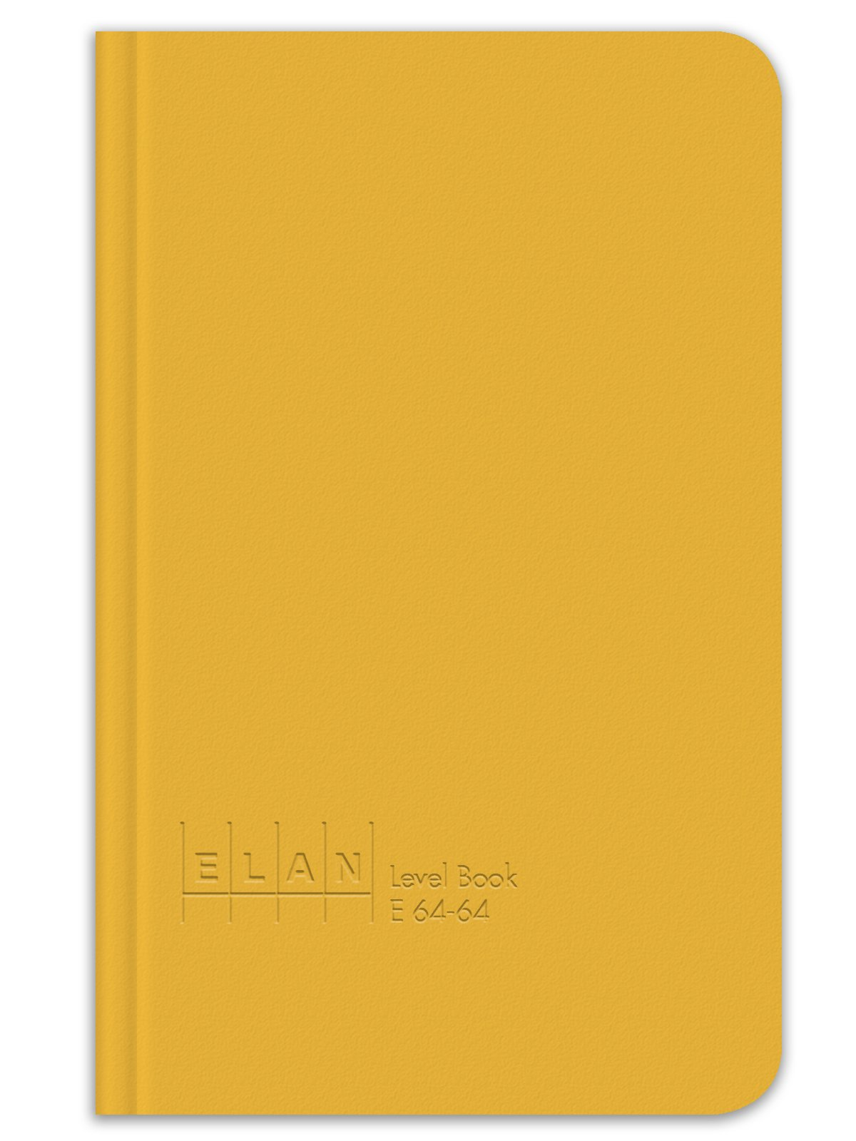 Elan Publishing Company E64-64 Level Book 4 ⅝ x 7 ¼, Yellow Cover (Pack of 6)