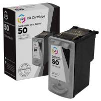 LD Remanufactured Ink Cartridge Replacement for Canon PG50 High Capacity (Pigment Black)