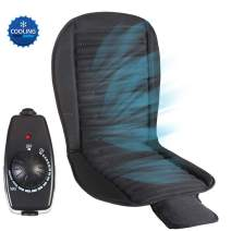 Big Ant Cooling Seat Cushion, 12V Automotive Universal Fit Seat Covers Full Size Ventilate Breathable Air Flow with Holes for Driver Seat, Vehicle Front and Back Seats in Hot Summer