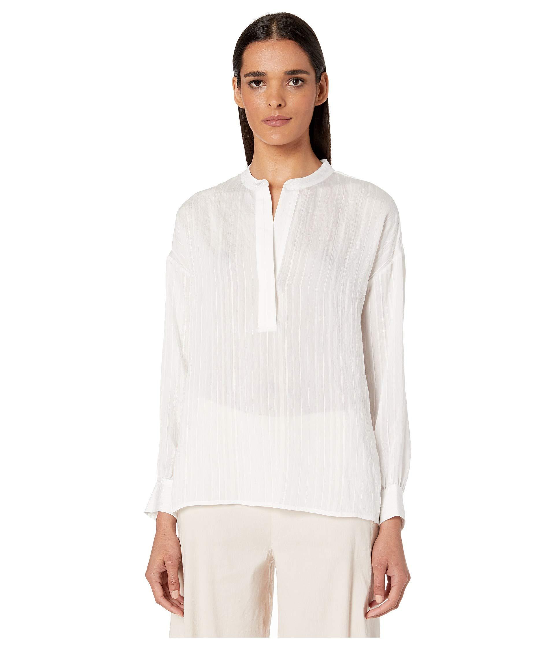 Vince Women's Drapey Stripe Pullover