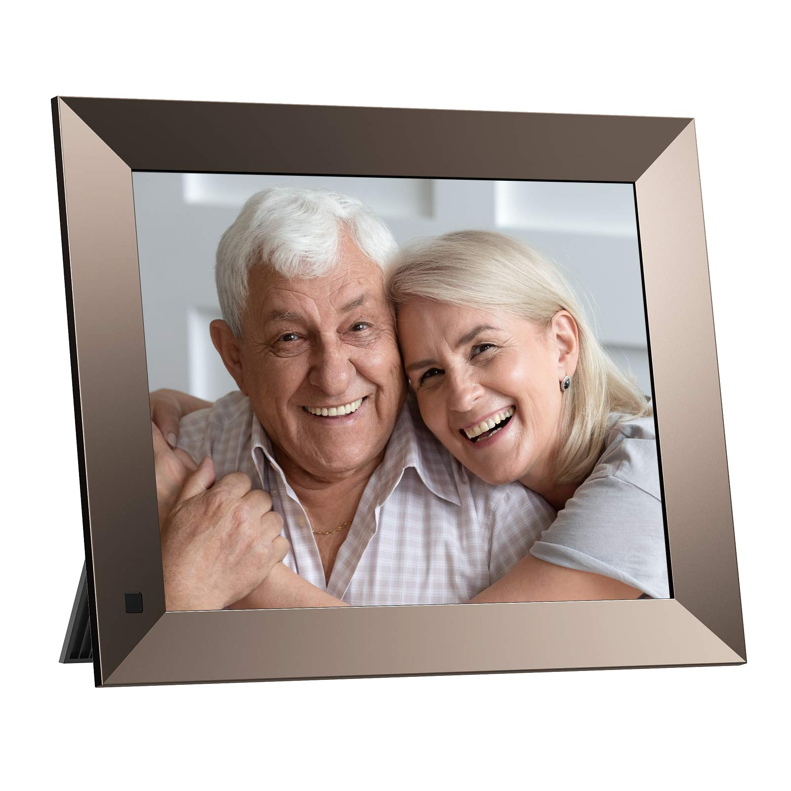 Dragon Touch WiFi Digital Picture Frame, 10 Inch IPS Touch Screen HD Display, Magnetic Stand, 16GB Storage, Motion Sensor, Auto-Rotate, Share Photos and Videos via App or E-Mail (Classic 10 Elite)