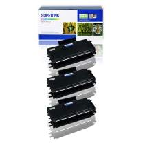 SuperInk 3 Pack Compatible Toner Cartridge Replacement for Brother TN650 TN620 High Yield use with DCP-8050DN 8080DN 8085DN HL-5340D 5350DN MFC-8370 8480DN 8680DN 8690DW 8880DN 8890DW Printer