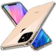 Aumu Clear iPhone Case Soften Breif Style Silicon Case Shock Absorption Bumper Cover Anti-Scrach Conpatible with Clear iPhone 11 Pro 5.8 Inches Support Wireless Charging Transparent