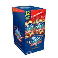 Blue Diamond Almonds, Smokehouse, 1.5 Ounce (Pack of 12)