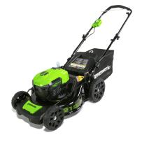 Greenworks 21-inch 40V Brushless Cordless Lawn Mower, Battery Not Included MO40L01