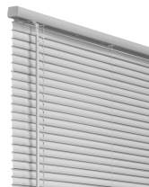 """CHICOLOGY Cordless 1-Inch Vinyl Mini Blinds, Horizontal Venetian Slat Light Filtering, Darkening Perfect for Kitchen/Bedroom/Living Room/Office and More, 12"""" W X 36"""" H, Gray (Commercial Grade)"""