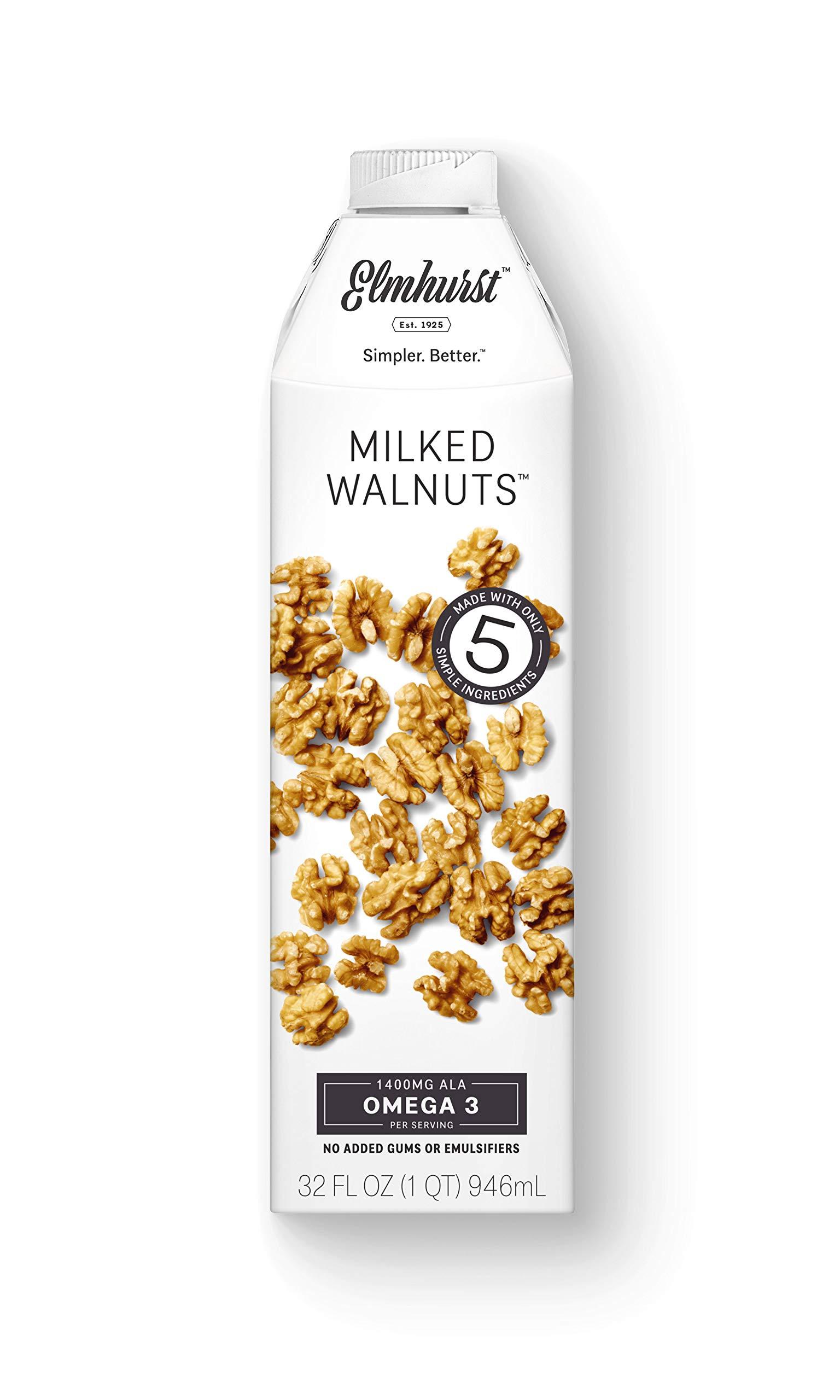 Elmhurst 1925 Walnut Milk, 32 Ounce (Pack of 6)