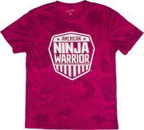 American Ninja Warrior Kids Camo Short Sleeve Performance T-Shirt