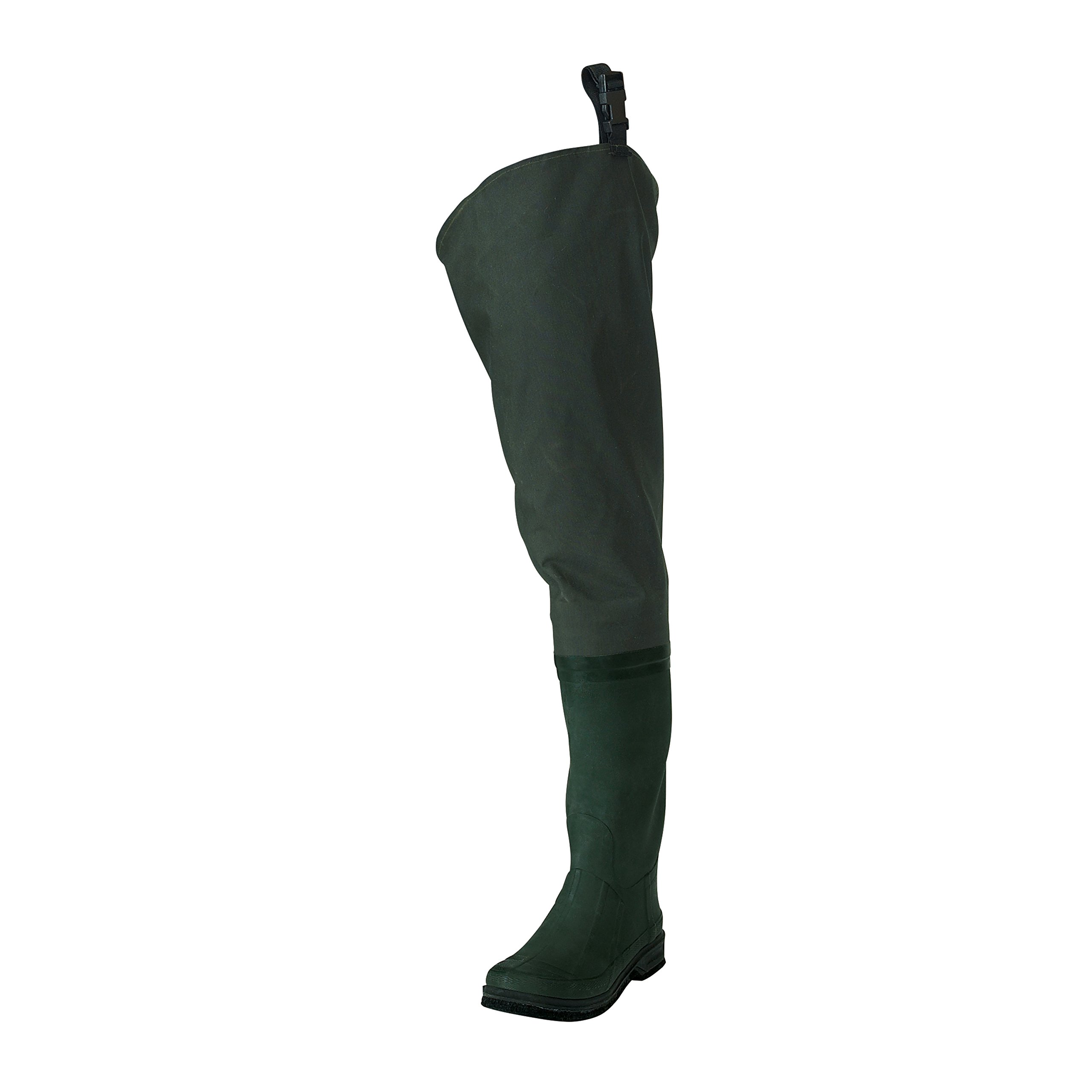 Frogg Toggs Cascades 2-ply Poly/Rubber Bootfoot Hip Wader, Cleated or Felt Outsole